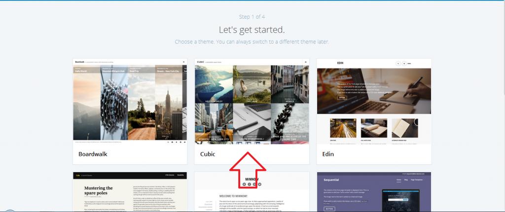 memilih tema blog