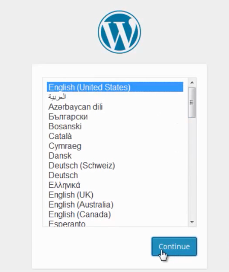install wordpress 11