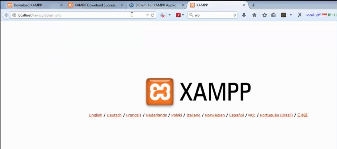 xampp 14