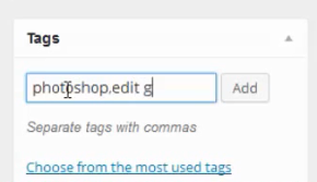 fitur tags post wordpress