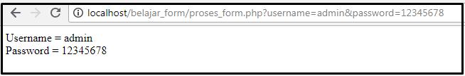 menangkap inputan form dengan request