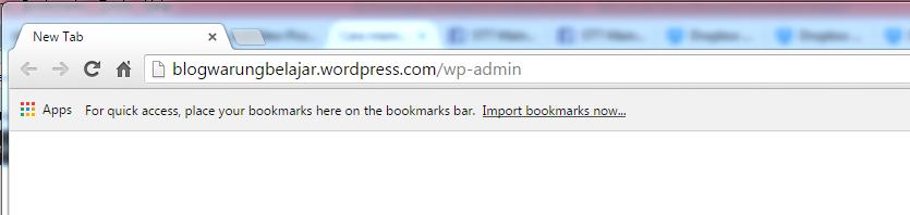 Cara login ke wordpress
