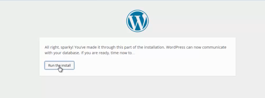 install wordpress 14
