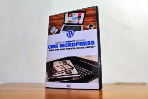 DVD Tutorial CMS Wordpress Lengkap