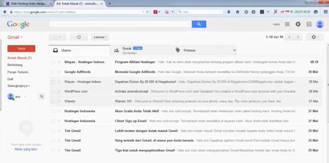 tutorial wordpress bagian 9 cara upload