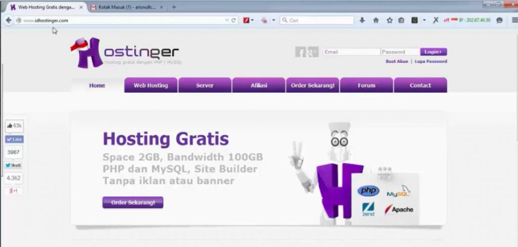 halaman idhostinger