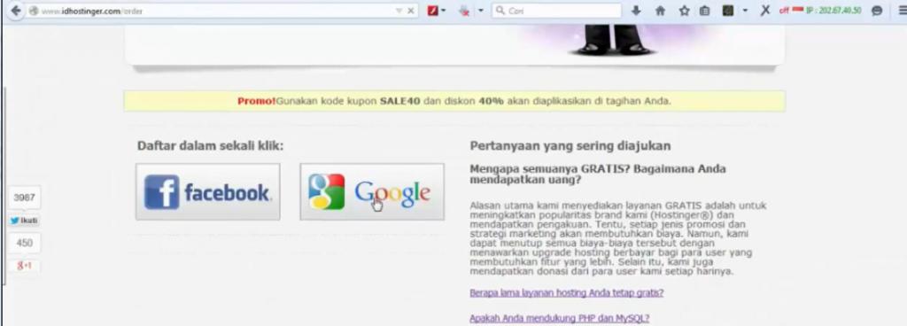 login dengan gmail