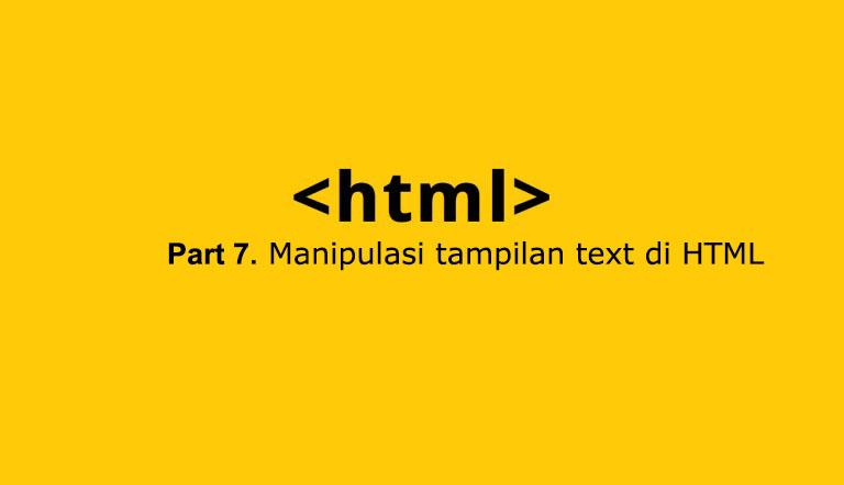 membuat tulisan tebal dan miring di HTML