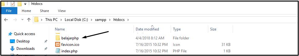 Tutorial Belajar Php Part 4 Menjalankan File Php Di Xampp Warung Belajar