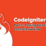 passing data dari controller ke view